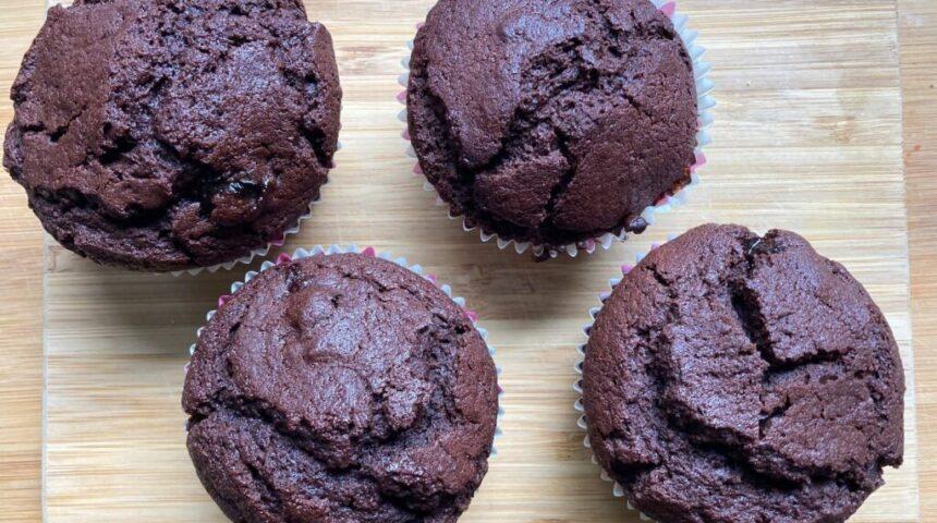 muffiny czekoladowe z wiśniami justperfect